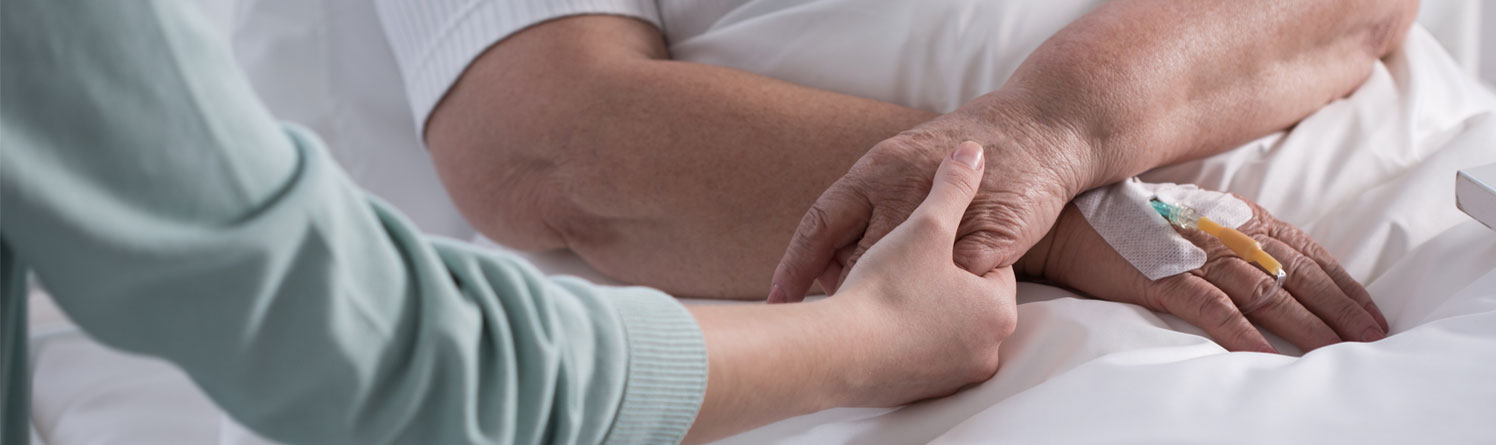 AevaCare Home Care carer providing palliative care, end of life support, cancer care at home